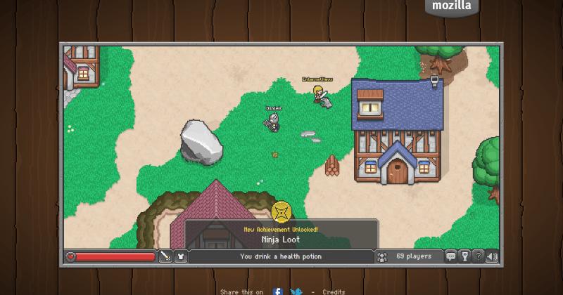 BrowserQuest vive la aventura de explorar un nuevo mundo en RPG