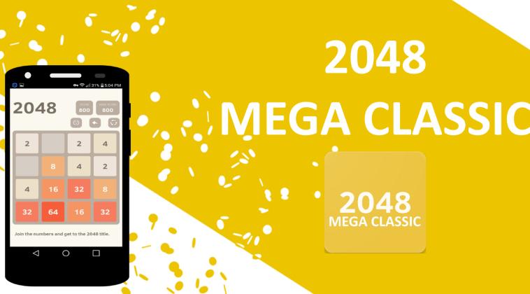 Mega 2048 Classic La mejor versión del adictivo juego matemático