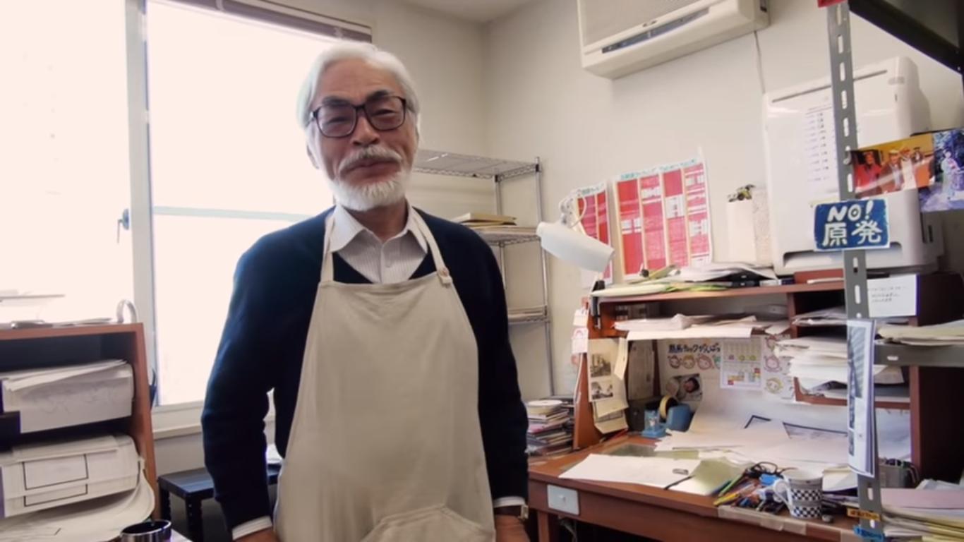 Hayao Miyazaki vuelve de su retiro para dirigir un nuevo largometraje